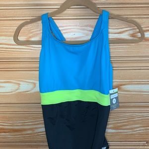 eq swimwear Swim - NWT EQ Swimwear Color-block Maternity Suit SZ M